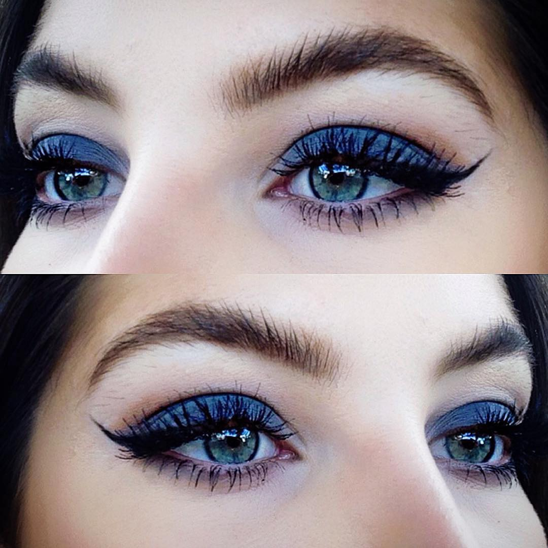 cute simple makeup ideas for blue eyes how to rock blue