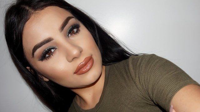 Dark Eyes Makeup Makeup For Brown Eyes Green Smokey Eye Tutorial Thanias Beauty