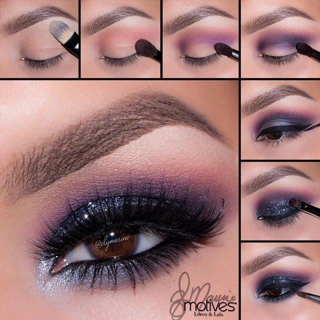 Deep Purple Eye Makeup 13 Glamorous Smoky Eye Makeup Tutorials For Stunning Party Night
