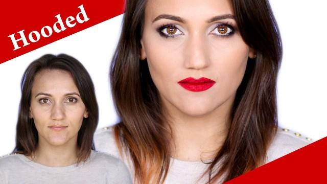 Deep Set Hooded Eyes Makeup Hooded Deep Set Hazel Eyes Makeup Tutorial For A Night Out Youtube
