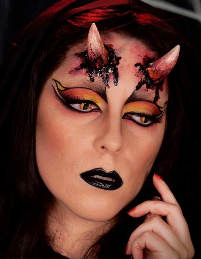 Devil Costume Eye Makeup Devil Halloween Makeup Ideas For Perfect Halloween Look A Diy Projects