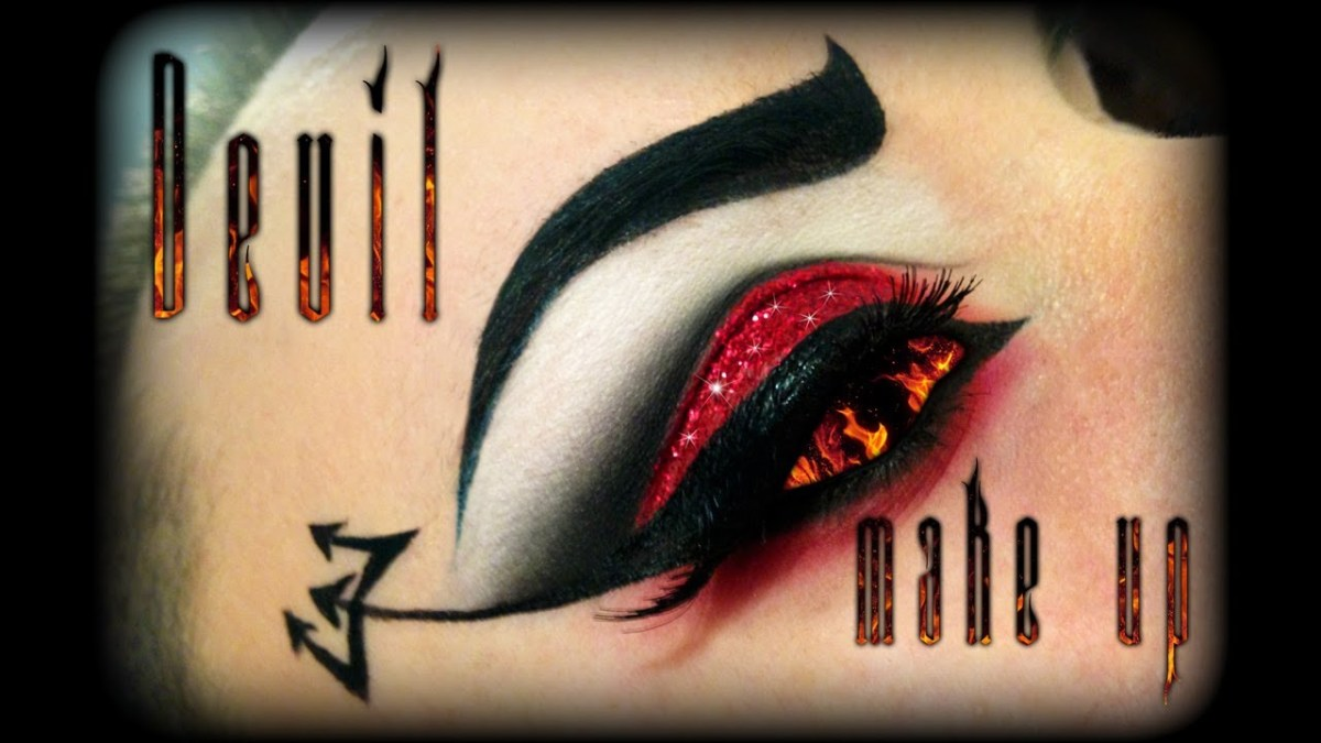Devil Costume Eye Makeup Halloween Sexy Demon Makeup Tutorial Ft Bh Cosmetics Youtube