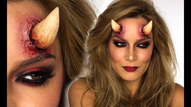 Devil Costume Eye Makeup Sexy Devil Halloween Makeup Tutorial Shonagh Scott Showme Makeup