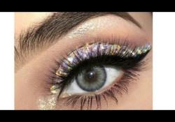 Diamond Eye Makeup Coachella Inspired Diamond Eye Look Makeup Tutorial Youtube