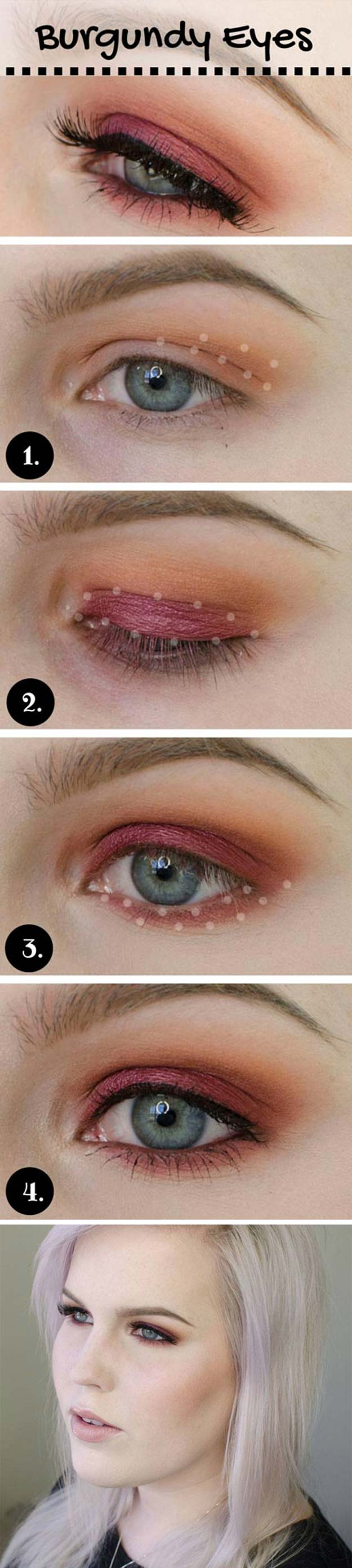 27 creative eye makeup for blue eyes and blonde hair