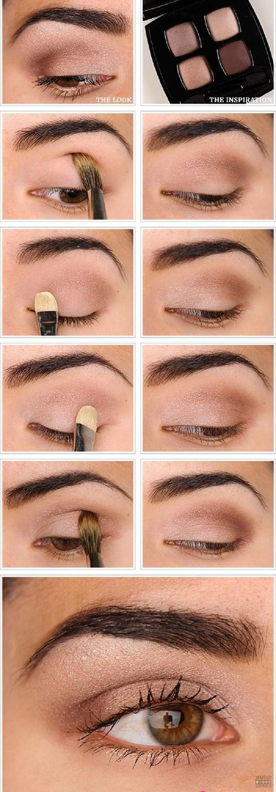 Eye Makeup For Brown Eyes Steps 15 Simple Eye Makeup Ideas For Work Outfits Pretty Designs