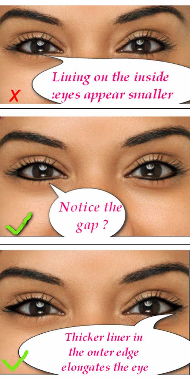 Eye Makeup For Small Eyelids 34 Makeup Tutorials For Small Eyes The Goddess