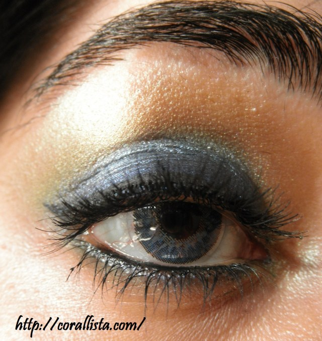 Eye Makeup Summer Eye Makeup Tutorial Bright Summer Blue With Mac Freshwater