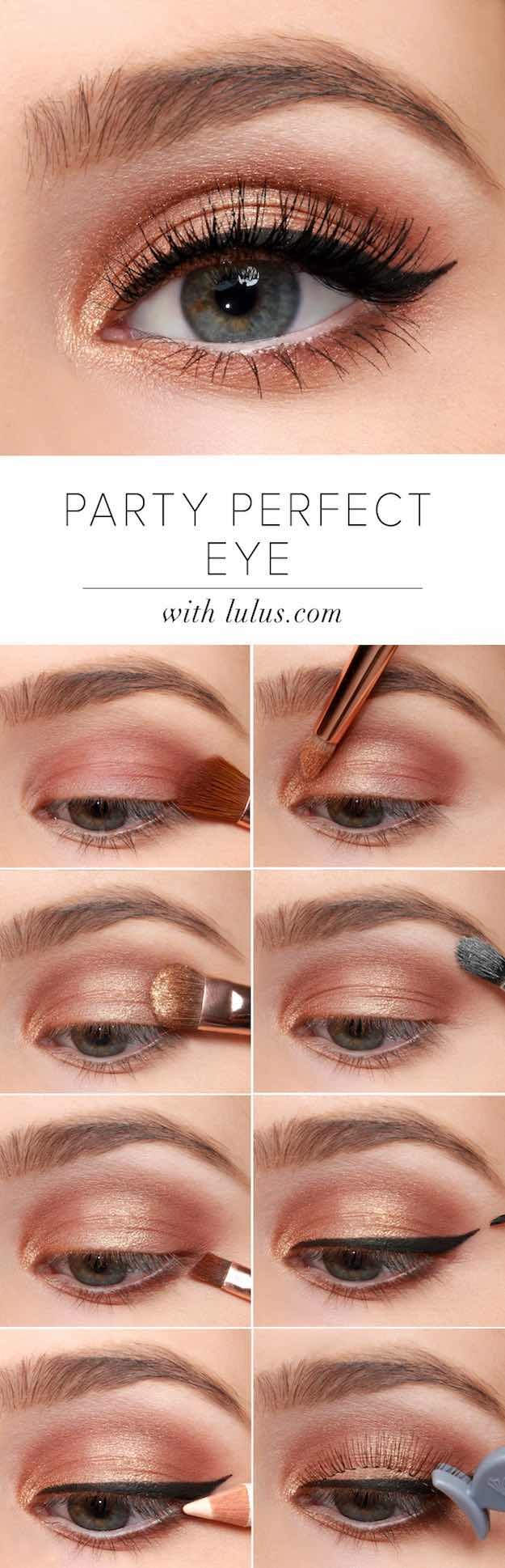Eye Makeup Tutorials Pretty Peach Makeup Tutorials To Create With Your Peach Palettes