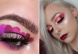 Heart Eye Makeup 7 Ways To Wear Heart Makeup On Valentines Day Allure