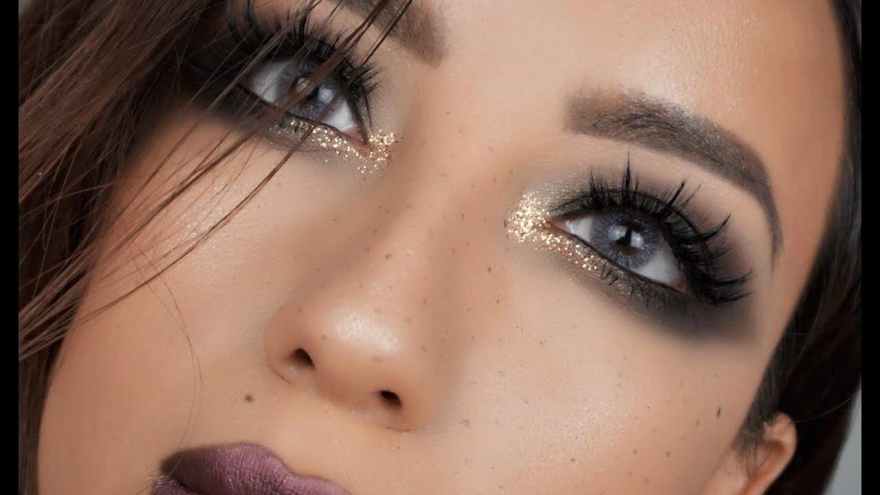 48 Amazing Glitter Christmas Makeup Ideas | Pretty eye