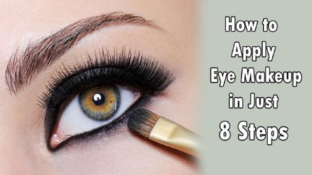 How To Apply Eye Makeup With Pictures How To Apply Eye Makeup For Women Over 50 Youtube