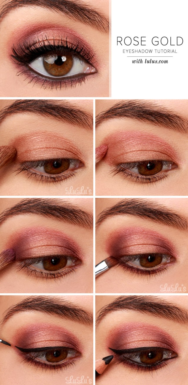 How To Apply Eye Makeup With Pictures How To Apply Eye Makeup Step Step With Pictures Makeup Academy