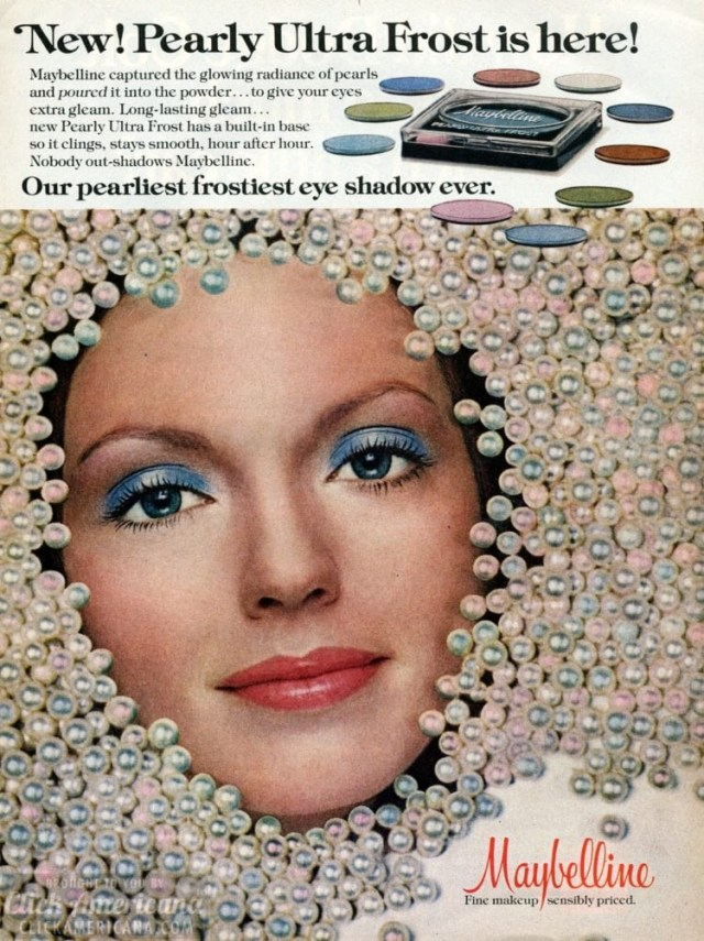 How To Do 60S Eye Makeup Blue Eyeshadow The Good The Bad The Ugly Vintage Makeup Click