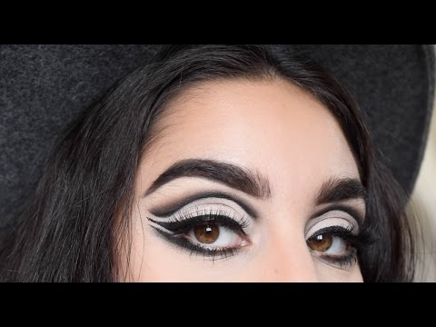 How To Do 60S Eye Makeup Bold 60s Cat Eye Look L Makeup Tutorial Youtube