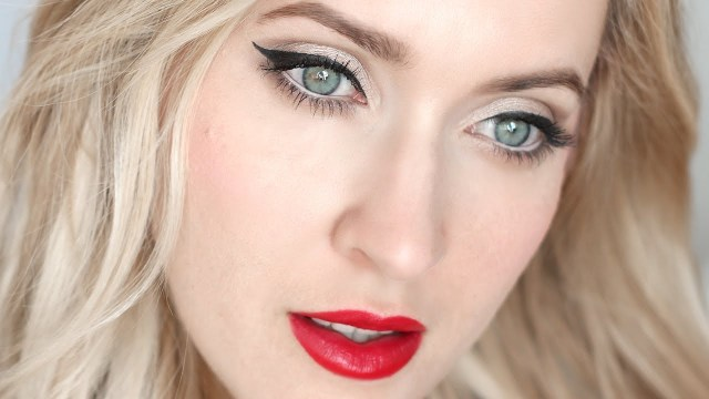 How To Do Makeup For Blonde Hair Blue Eyes Pin Up Makeup Tutorial For Blondes And Brunettes Youtube