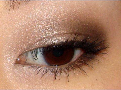 Light Brown Smokey Eye Makeup Daytime Smokey Eyes Using Too Faced Youtube