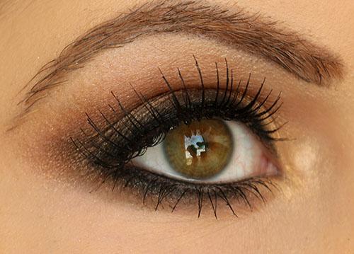 Light Brown Smokey Eye Makeup Step Step Smokey Brown Eyeshadow Tutorial Miss Nattys Beauty