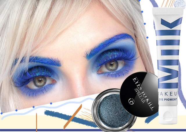 Makeup Colors For Blue Eyes 17 Blue Eyeshadow Shades To Master The Blue Eye Makeup Trend