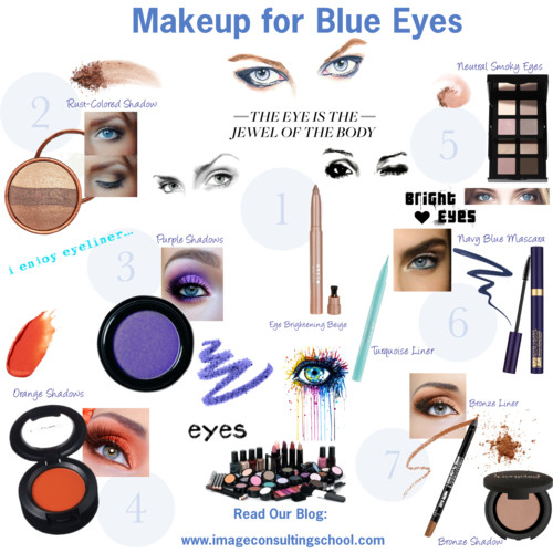 Makeup Colors For Blue Eyes Makeup For Blue Eyes Image Consultant Training Isi Miami
