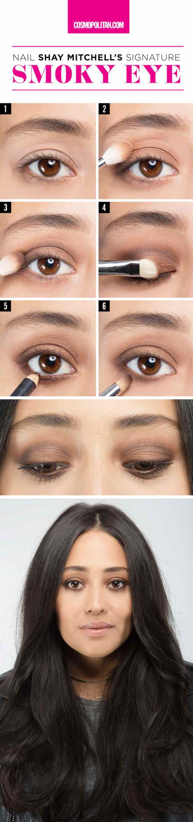 Makeup For Brown Eyes 31 Awesome Makeup Tutorials For Brown Eyes The Goddess