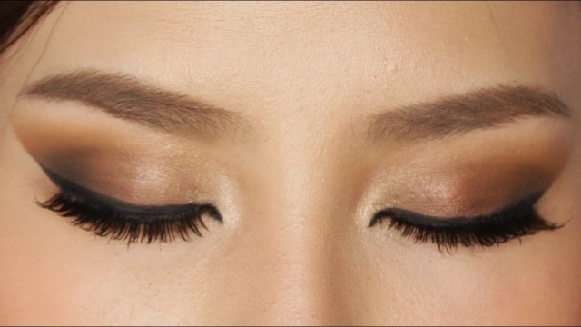 Makeup For Brown Eyes Easy Brown Smokey Eye Makeup Tutorial Youtube