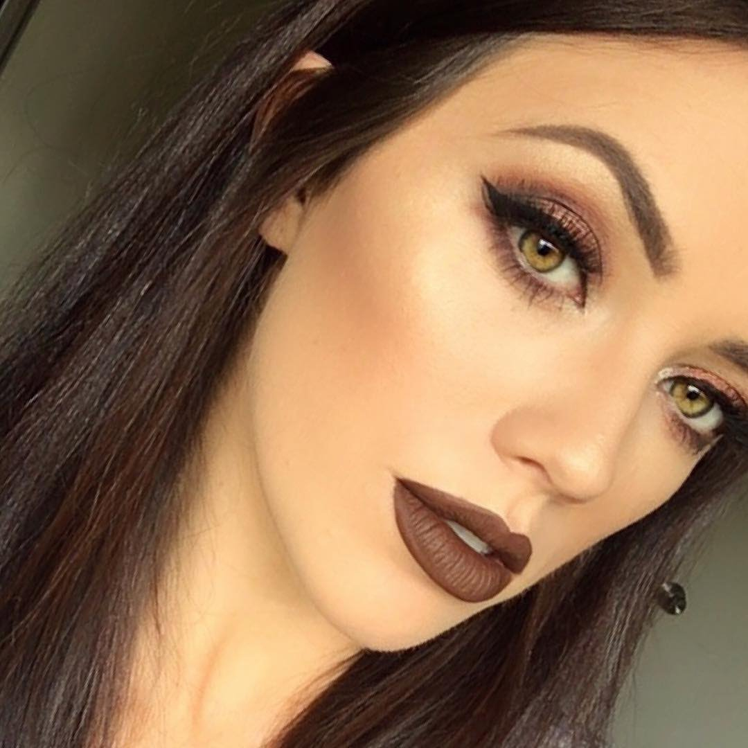 Makeup For Brown Eyes Makeup Tips For Brown Eyes The Best Tips For Brown Eyed Ladies