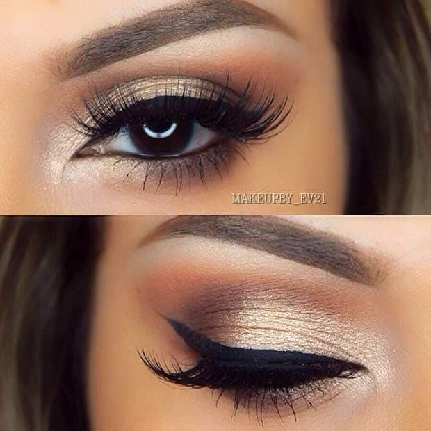 Makeup For Brunettes With Brown Eyes Wedding Makeup For Brunettes With Brown Eyes Wedding Day