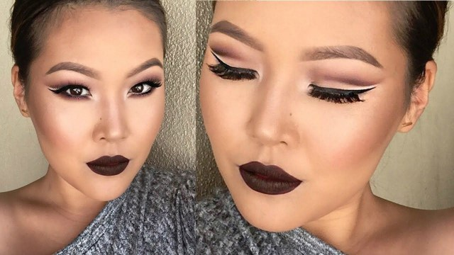 Makeup For Hooded Eyes Zero Space W Cut Crease Eye Makeup Suitable For Hooded Eyes