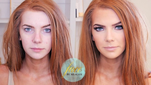 Makeup For Red Hair And Brown Eyes Makeup For Redheads Tutorial Green Beauty Face Meagan Youtube
