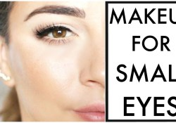 Makeup For Small Brown Eyes Makeup For Small Eyes Youtube