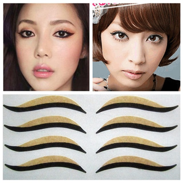 Makeup Tape Eyes 5packs Cat Eyes Sticker Black Eyeliner Double Eyelid Tape Smoky