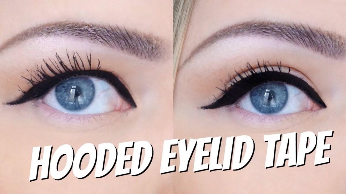 Makeup Tape Eyes Hooded Eyelid Tape Does It Work Makeup Myrna Youtube