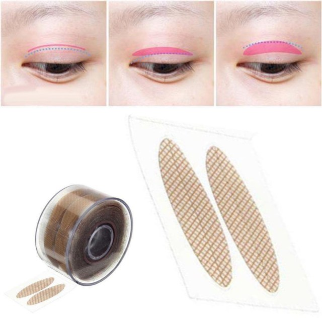 Makeup Tape Eyes Wholesale High Quality Makeup Beauty Tool Adhensive Sticky Tape Roll