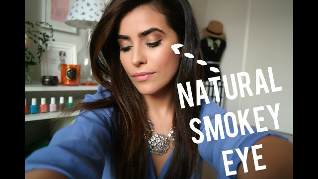 Natural Smokey Eye Makeup Natural Smokey Eye Tutorial Youtube