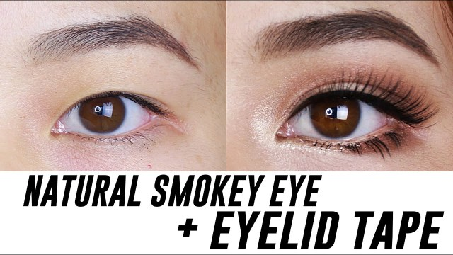 Natural Smokey Eye Makeup Smokey Eye Makeup For Small Hooded Monolid Eyes Tina Yong Youtube