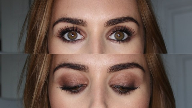 Perfect Makeup For Brown Eyes Beauty Le Chic Classic Brown Smokey Eye Look