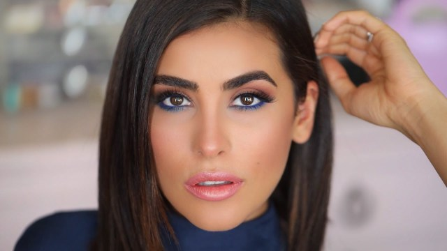 Perfect Makeup For Brown Eyes How To Make Brown Eyes Pop Blue Eyeliner Makeup Tutorial Easy