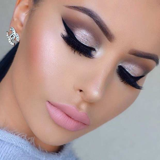 Pink And Silver Eye Makeup 31 Beautiful Wedding Makeup Looks For Brides Stayglam