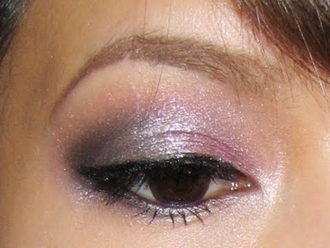 Pink And Silver Eye Makeup Homecoming Makeup Tutorial Pink Silver Lining Youtube