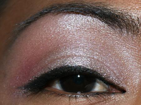 Pink And Silver Eye Makeup Mac Cosmetics Face Of The Day Hot Pink Lips And Silver And Pink Eye
