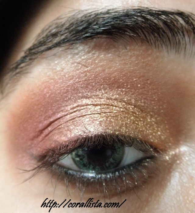 Pink Eye And Makeup Festive Pink And Gold Eye Makeup Step Step Tutorial And Fotd