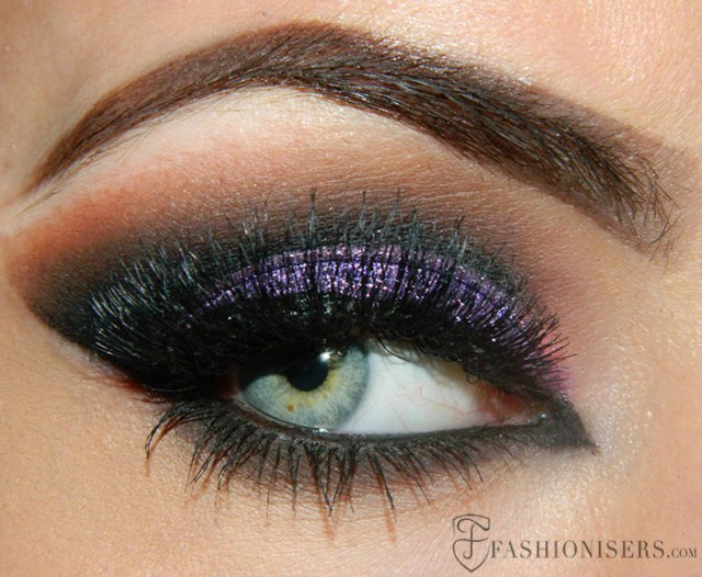 Purple And Gold Smokey Eye Makeup 10 Dramatic Smokey Eye Makeup Ideas Fashionisers