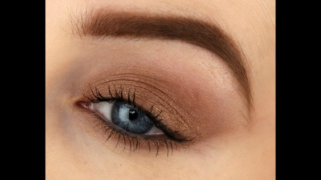 Shaded Eye Makeup Beginners Makeup Using One Eyeshadow Youtube