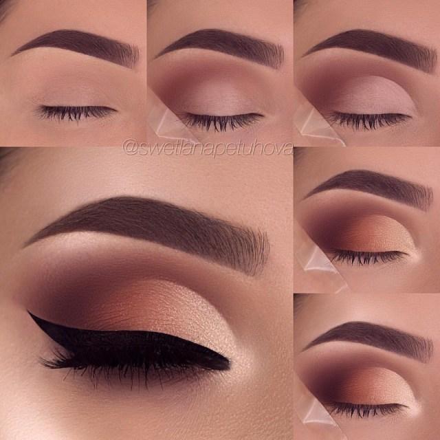Simple Eye Makeup Tutorial 26 Easy Step Step Makeup Tutorials For Beginners Pretty Designs