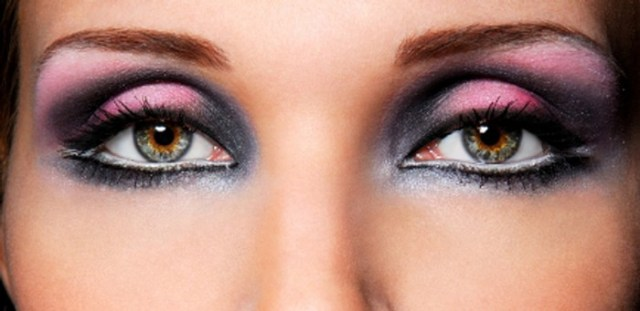 Socket Eye Makeup How To Apply Purple Pink And Silver Eye Makeup Beauty Stylo