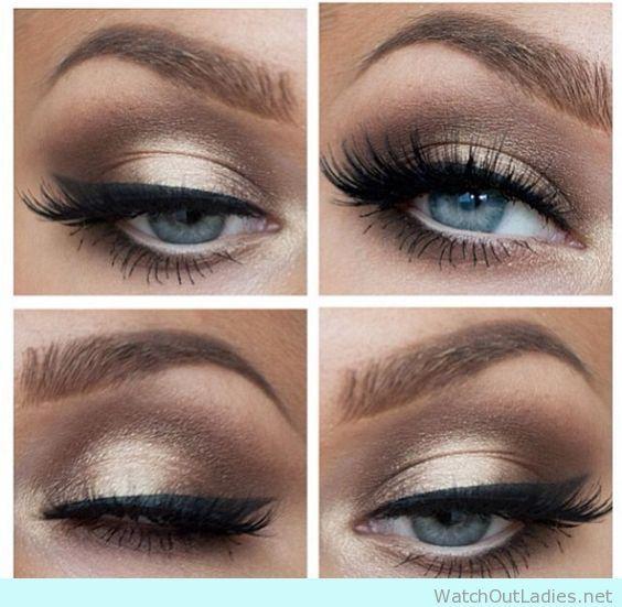Wedding Makeup Blue Eyes Brown Hair Best Ideas For Makeup
