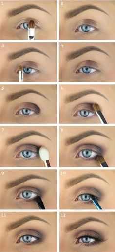 Wedding Makeup Blue Eyes Brown Hair Eyeshadow Colors For Blue Eyes And Blonde Hair Fresh Brown Eye