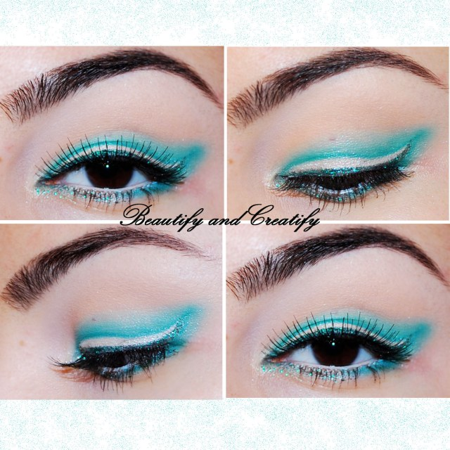 Winged Eye Makeup Colorful Subtle Winged Eye Makeup Tutorial