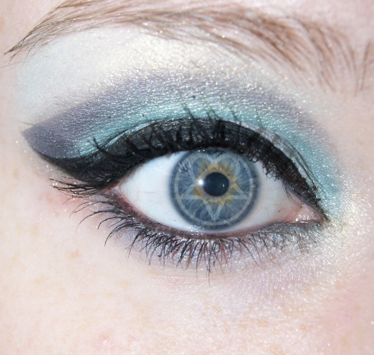 Winged Eye Makeup Dark Light Him Inspired Makeup Look How To Create A Winged Eye